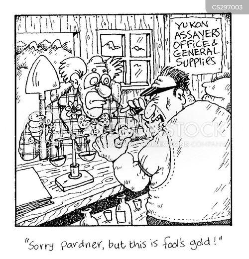 fools gold cartoon