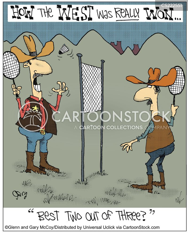 Badminton Cartoons and Comics - funny pictures from ...