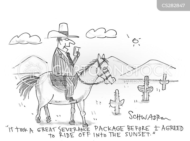 redundancy package cartoon