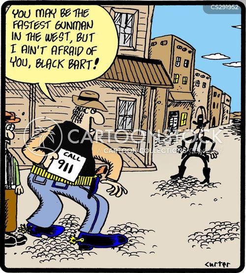 showdown cartoon
