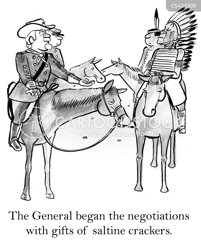 treaties cartoon