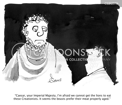 caesars cartoon