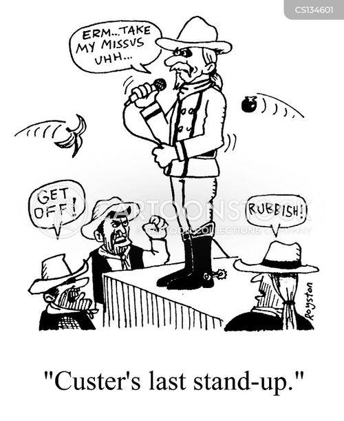 general custer cartoon