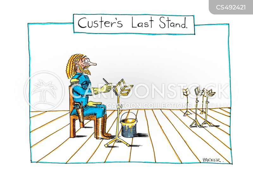 music stands cartoon