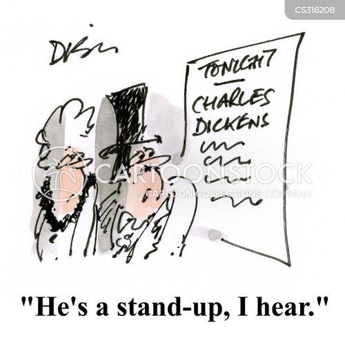dickensian cartoon