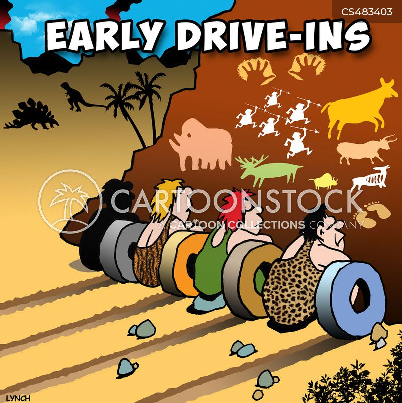 Drive In Cartoons And Comics Funny Pictures From Cartoonstock