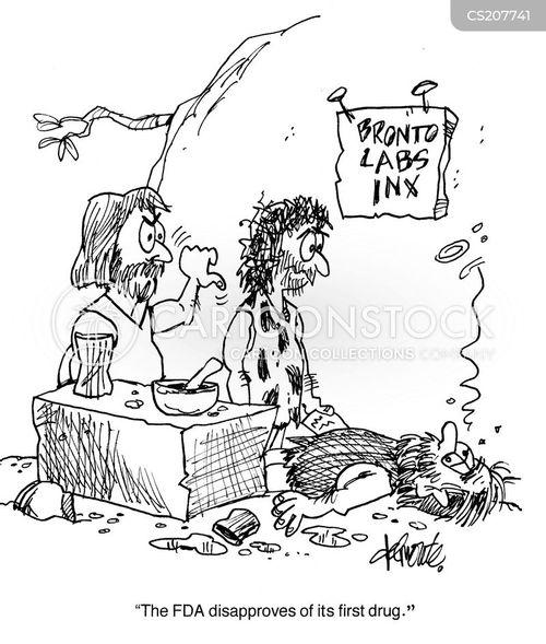 medical testing cartoon