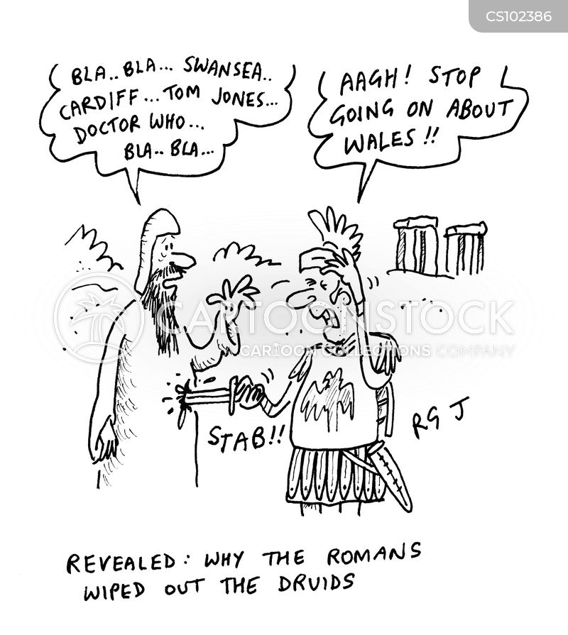 claudius cartoon