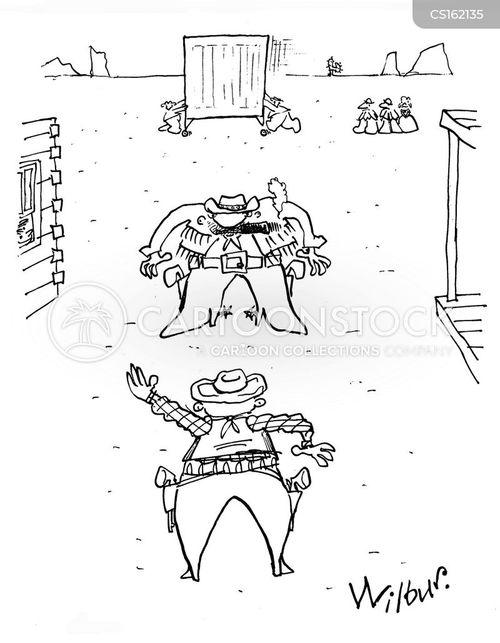 shoot outs cartoon