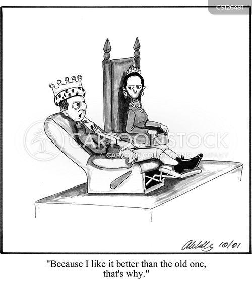 anachronistic cartoon