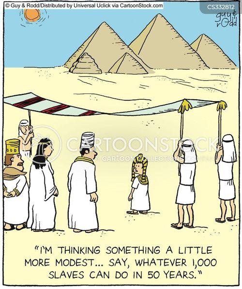 pharoh cartoon