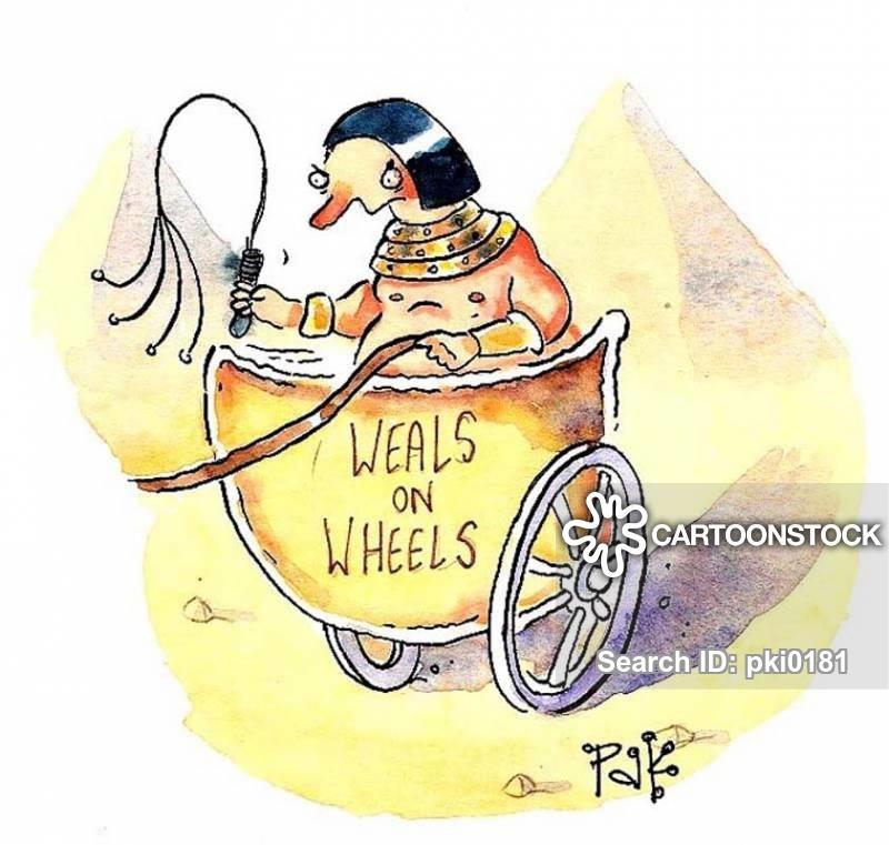 chariots cartoon
