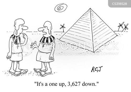 one up cartoon