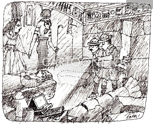 buried treasures cartoon
