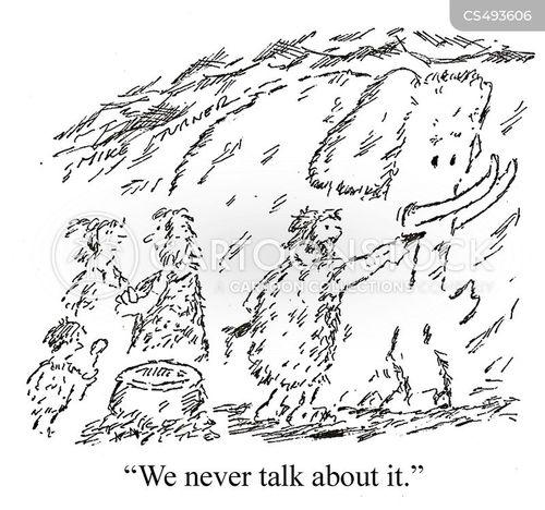 unspoken cartoon