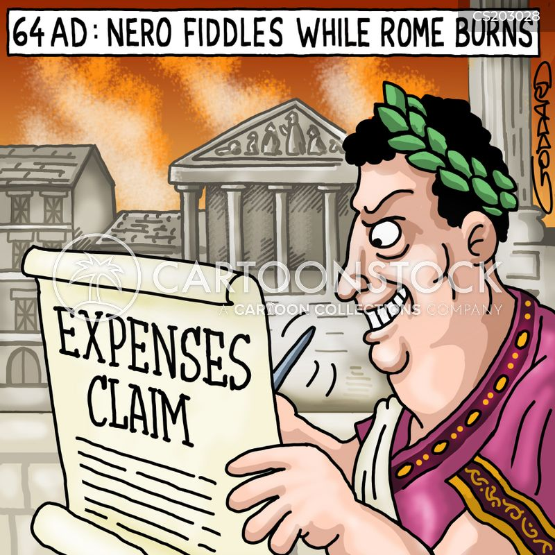 expense frauds cartoon