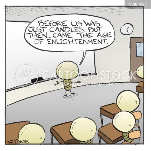 enlighten cartoon