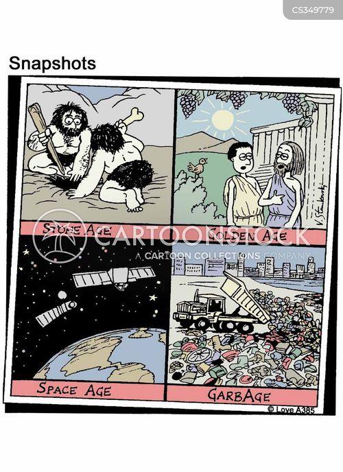 land fill cartoon