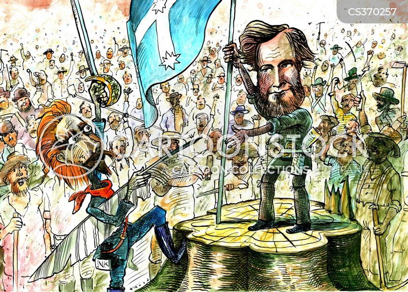 The Eureka Stockade cartoons, The Eureka Stockade cartoon, funny, The Eureka Stockade picture, The Eureka Stockade pictures, The Eureka Stockade image, The Eureka Stockade images, The Eureka Stockade illustration, The Eureka Stockade illustrations