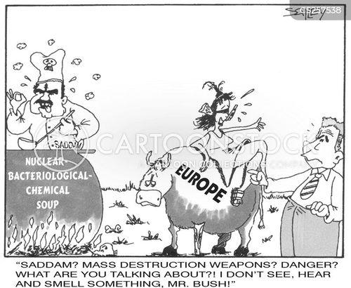 biological weapons cartoon
