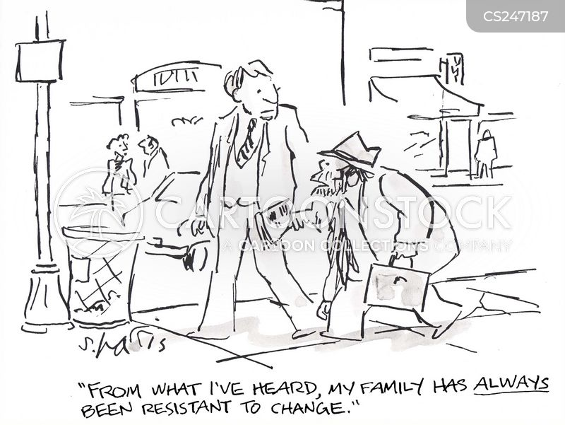 Family Traits Cartoons and Comics - funny pictures from