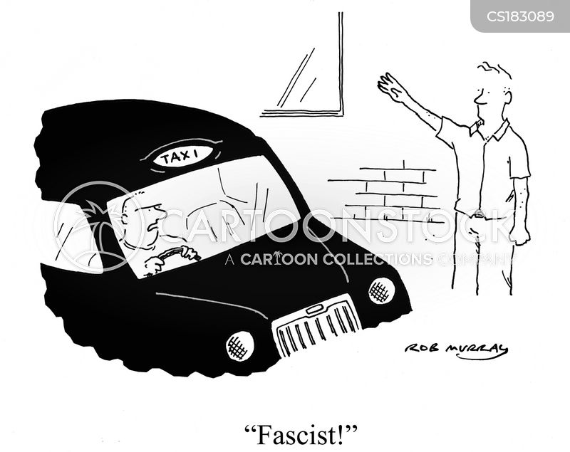 fascist cartoon
