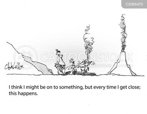 technological breakthrough cartoon