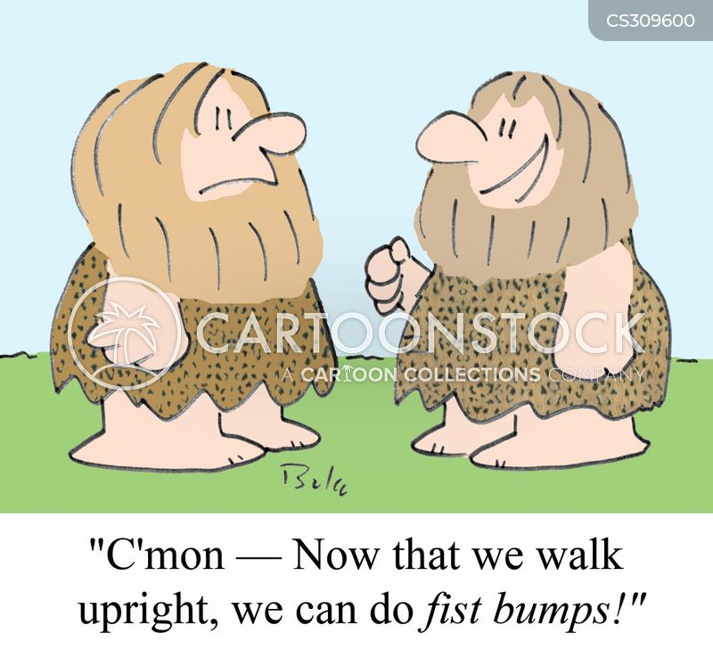 bipedalism cartoon