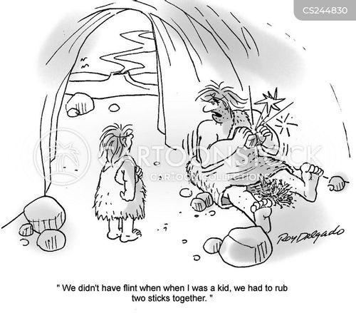 flint cartoon