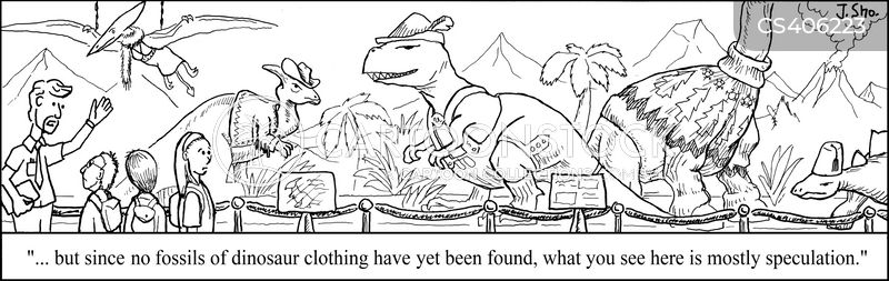 natural history cartoon