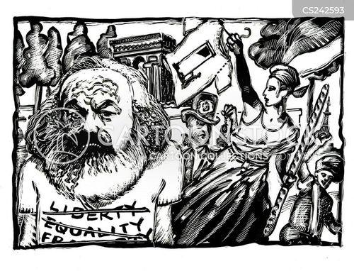 commercialization cartoon