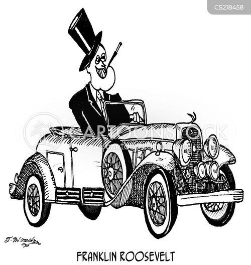 franklin roosevelt cartoon