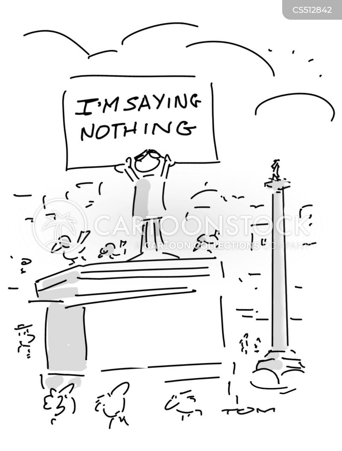taking offense cartoon