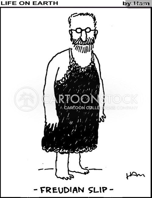 petticoats cartoon