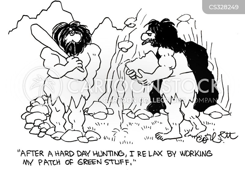 chilling out cartoon
