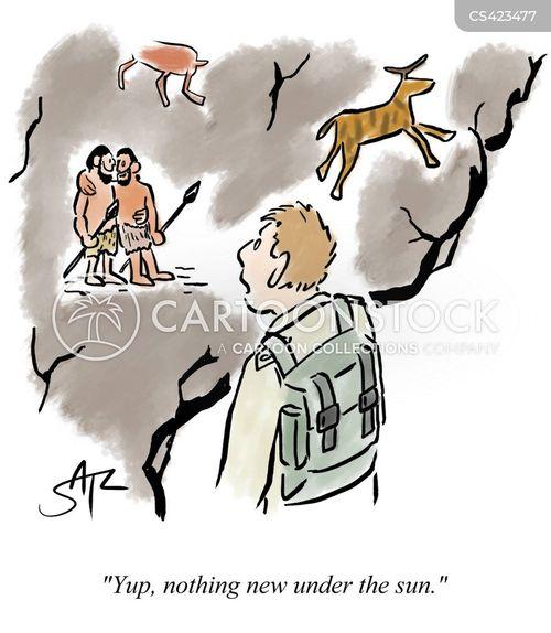 prehistoric art cartoon