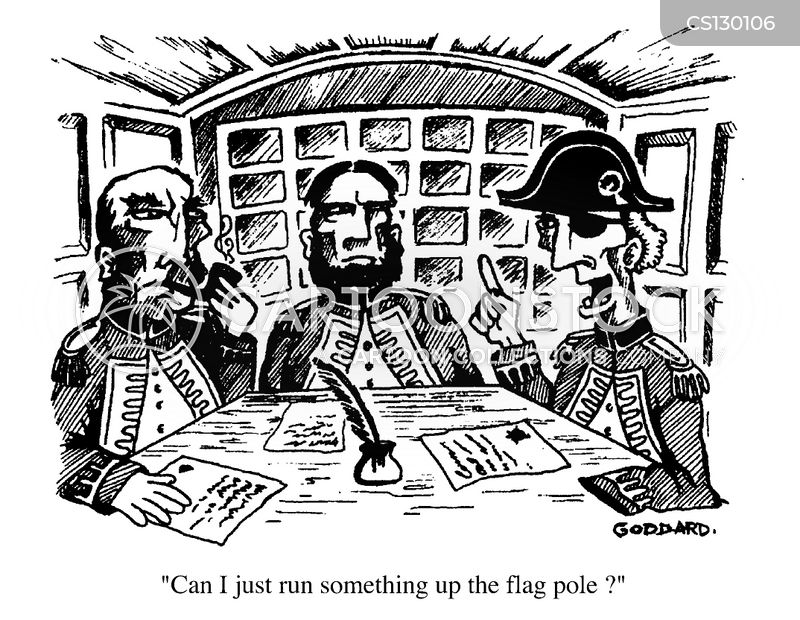 captainsflag poles cartoon
