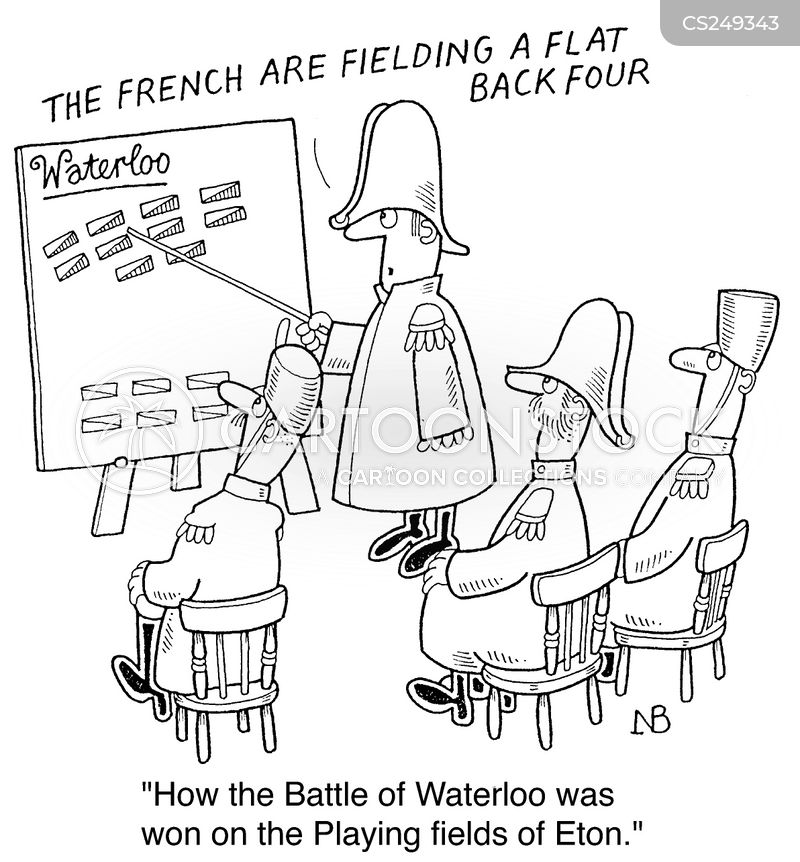 napolean cartoon