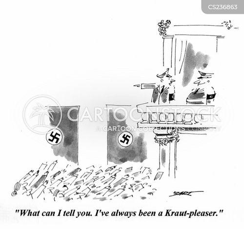 nuremberg rally cartoon