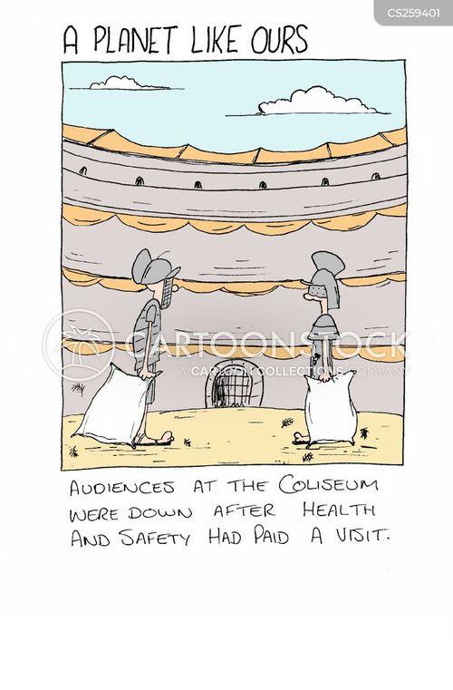 coliseum cartoon