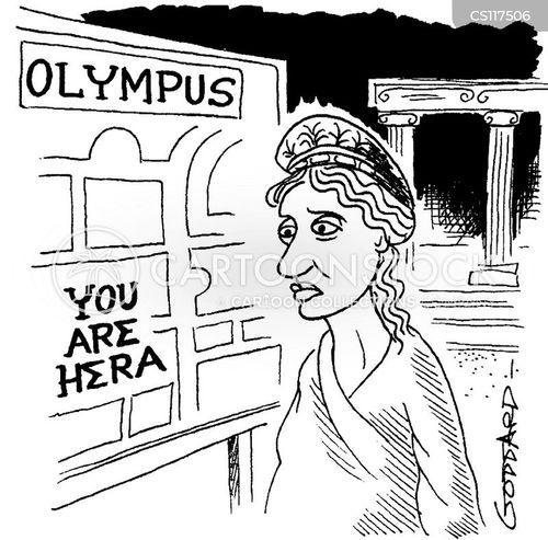hera cartoon