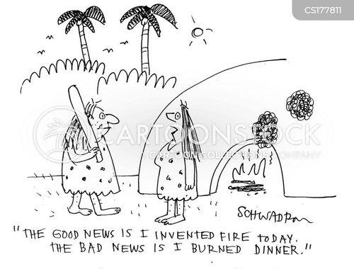 burnt cartoon