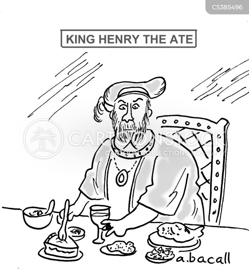 king henry the eighth cartoon