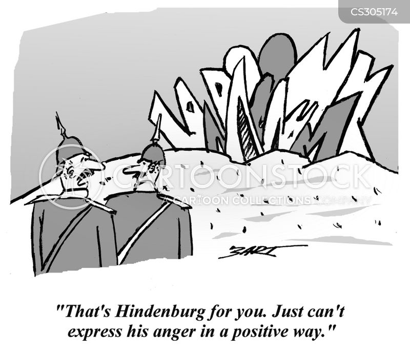 hindenburg cartoon