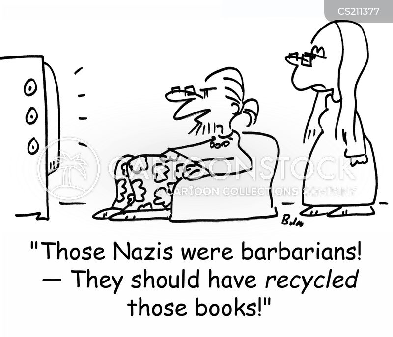 nazi germany cartoon