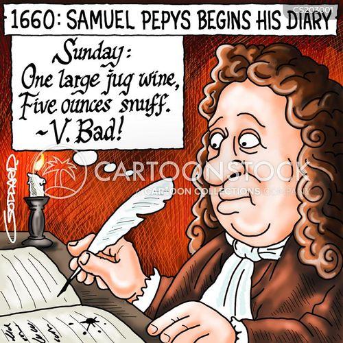 english restoration cartoon