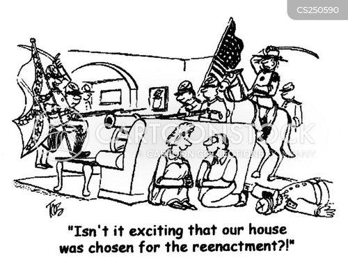 battle scenes cartoon