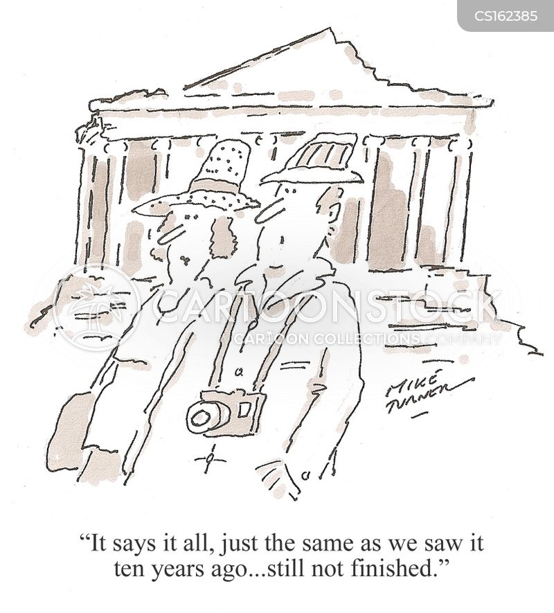 ancient ruin cartoon