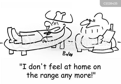 ranges cartoon
