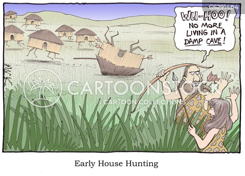 house hunter cartoon